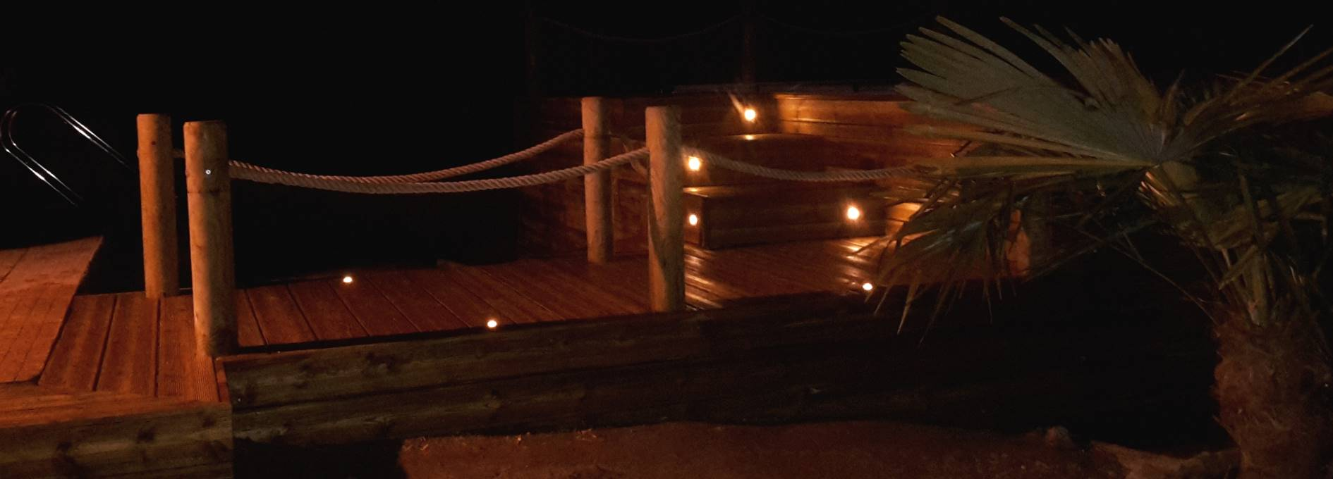 Spot LED pour terrasse