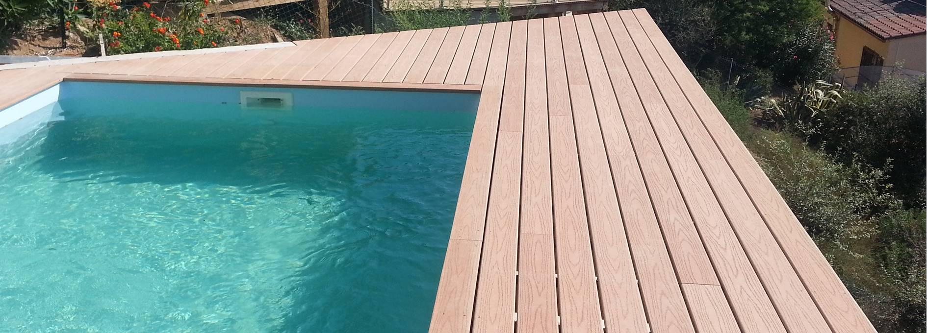 Terrasse en composite Fiberon
