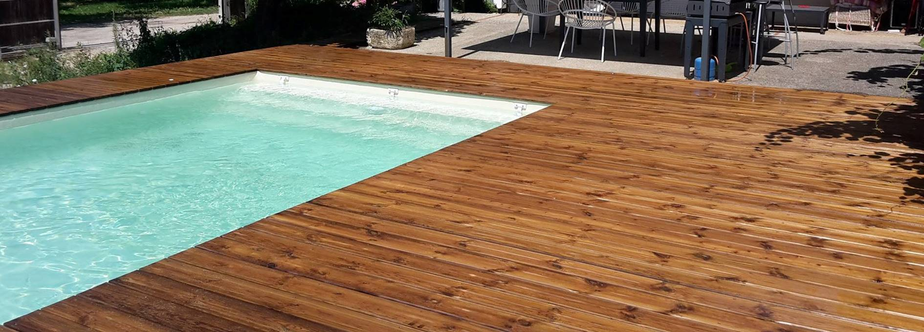 Les piscines en bois