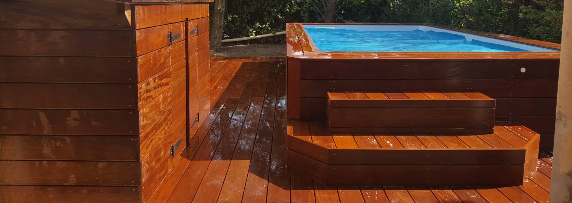 piscine bois et terrasse ipe grenoble